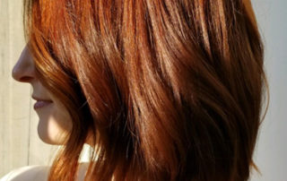 Naturally beautiful red hair